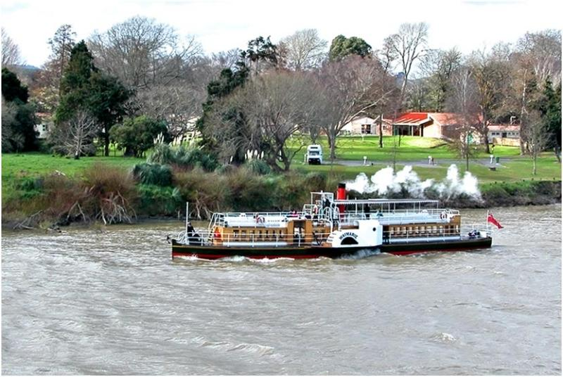 Waimarie on the Wanganui