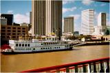 Creole Queen on the Mississippi at New Orleans
