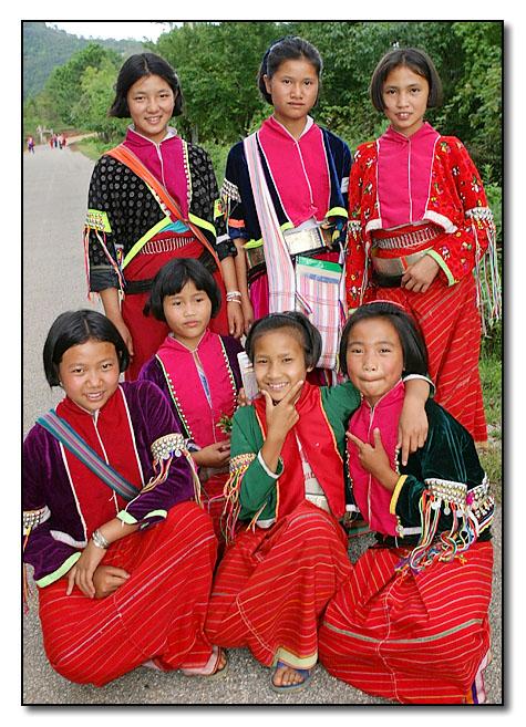 Palaung School Girls