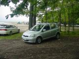 Toyota Vitz (my car in Hokkaido)