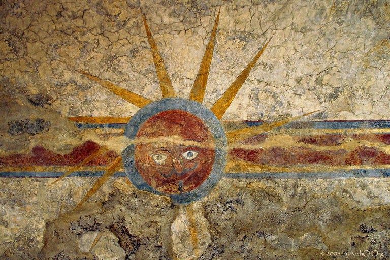 Fresco of God