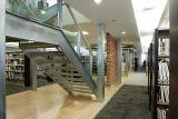 Intérieur de la bibliothèque de L'Assomption
