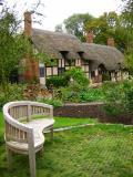 Hathaway Cottage (garden bench)