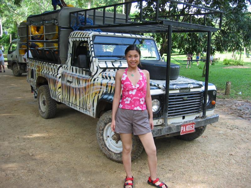 Safari in Ocho Rios, Jamaica