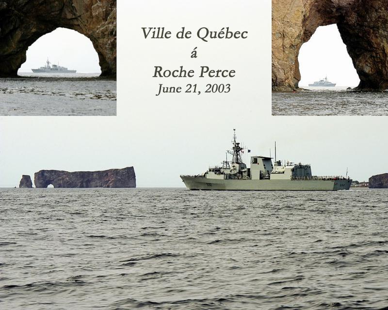 VDQ visits Roche Perce