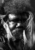 Aborigine in high contrast