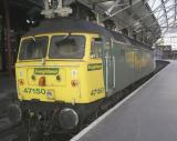 Class 47150 at Lime Street Station Liverpool