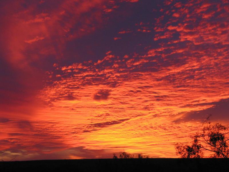 Winter Sunset - November, 2003