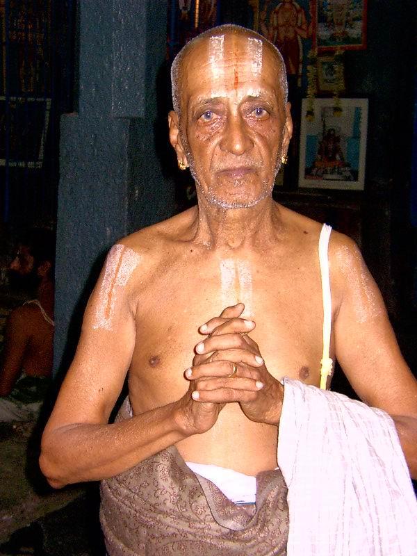 Vaikuntavaasi Kovil Vidwan Srirangam Narasimhachar