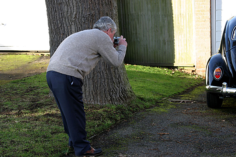 Guess what Dads photographing...