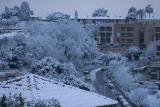 Au réveil : Nice sous la neige