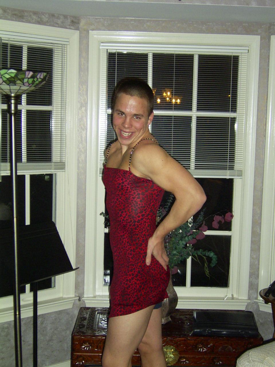 Stefan- Lauren looks better in the dress!!