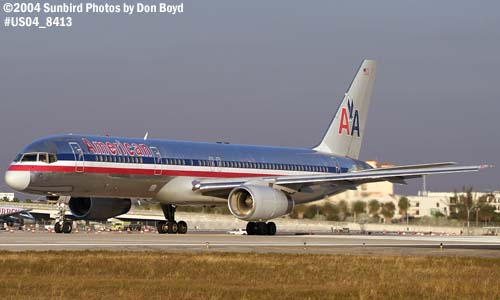 American Airlines B757-223 N681AA aviation stock photo #8413