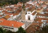 Tomar seen from the Templar Castle