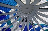 Catedral Metropolitana, detalhe dos anjos de Alfredo Ceschiatti