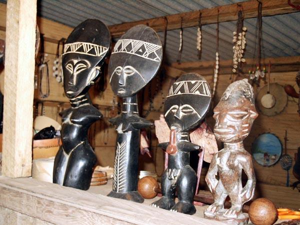 Ashanti carvings