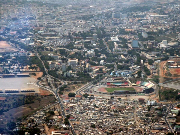 Independence Square and Stadium, Accra