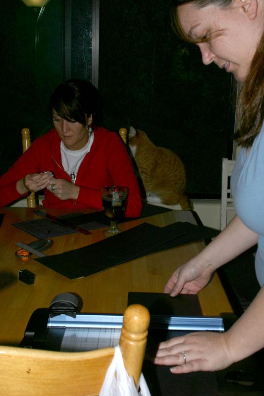 February 4, 2005<br>Invitation Production Line