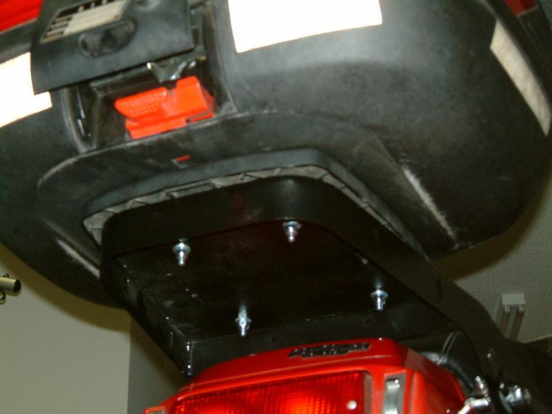 Bottom View of Rack