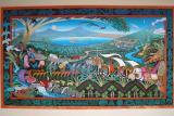 Mural at the Masaya Volcano Museum