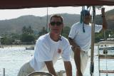 Captain Chris Berry of the Pelican Eyes Sailboat