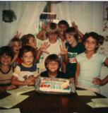 Skip's 9th birthday with Star Wars Cake