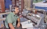 Greg Everett at the KKJO Control Board
