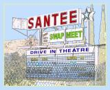 The Santee Drive In Theatre