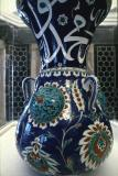 Mosque lamp in polychrome