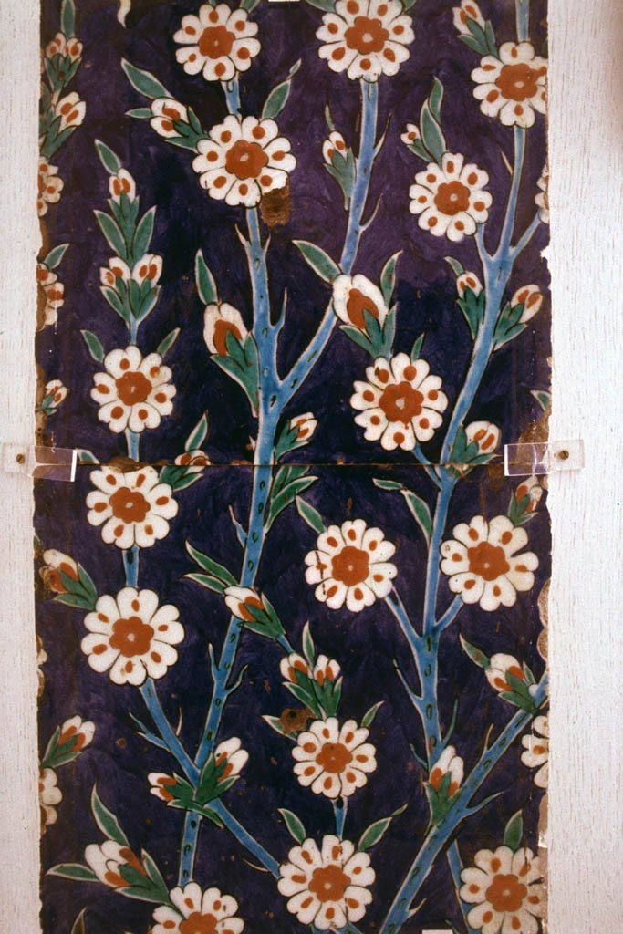 Tiles with flowers