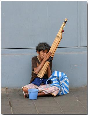 Street Musician, Bangkok