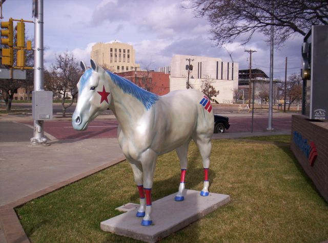 Bank Of America Horse