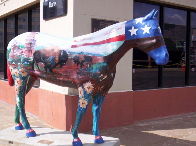 Buffalo Horse
