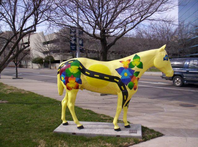 Sunny Yellow Amarillo Horse