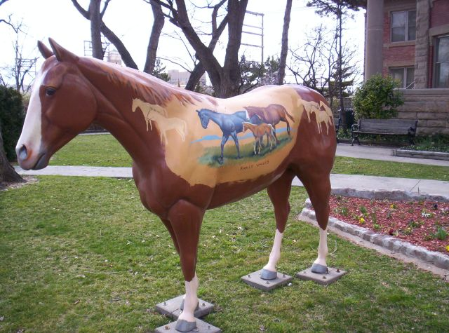 Ranch Family Values Horse flip side