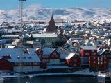 Snow in Torshavn