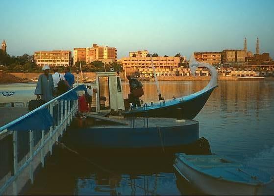 Felucca at dock