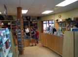 Book and Gift Shop at Highlands NP Information Centre