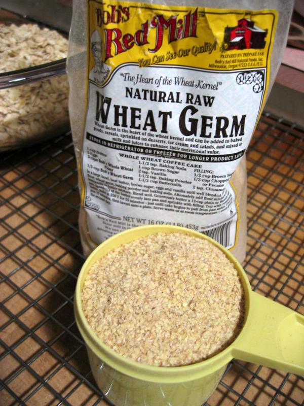 2 c. wheat germ