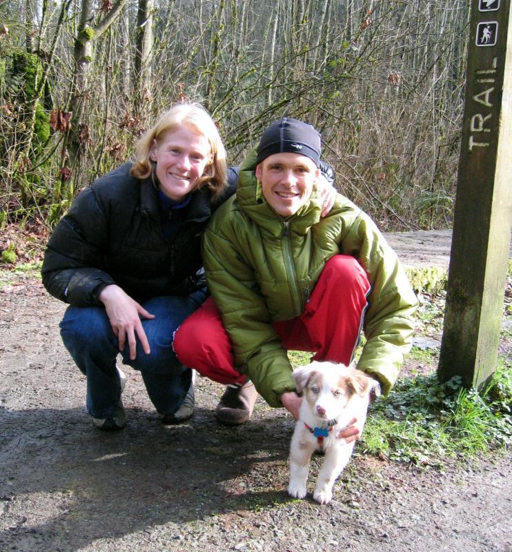 Maggie & Justin Angle & Cute Puppy, Piper!