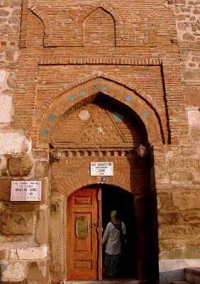 Aslanhane Mosque door