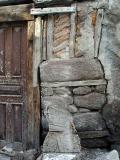 Bricks and door