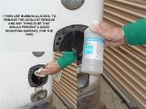 USE RUBBING ALCOHOL TO CLEAN SURFACE