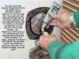 APPLY LUBE GEL TO HELP PREVENT REACQUIRING RUST IN SOCKET
