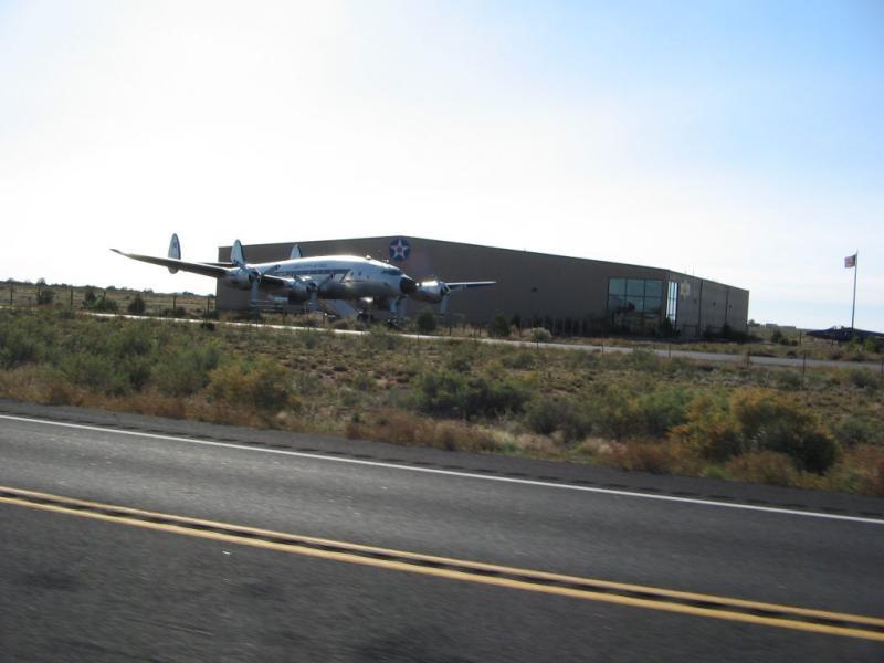 plane outside of Prescott