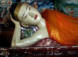 Large Reclining Buddha image