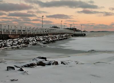 Jetty in Ice