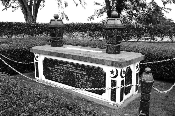 Grave of Yusof Ishak