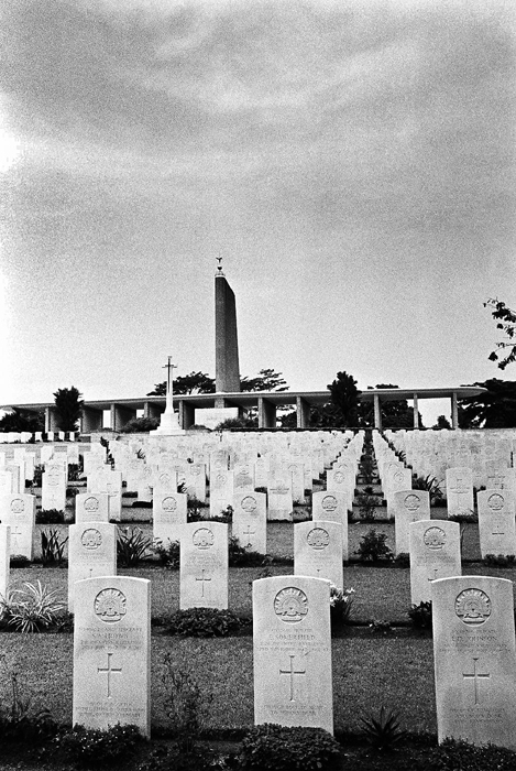 War Cemetery from West Wing I