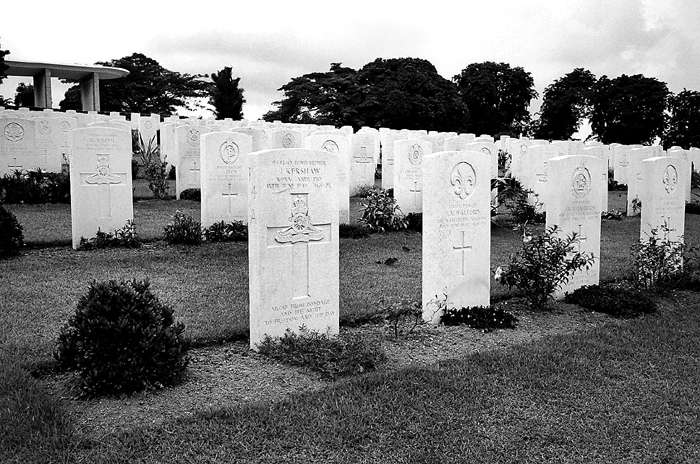 War Graves from West Wing